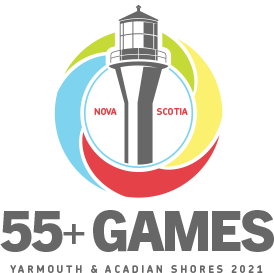55+ Games Yarmouth & Acadian Shores 2021, Logo